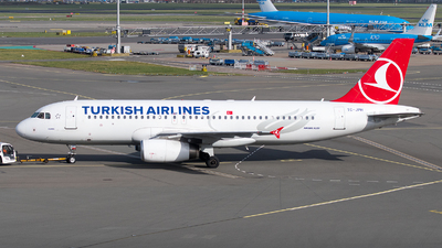 A picture of TCJPH - Airbus A320232 - Turkish Airlines - © Jevgeni Ivanov