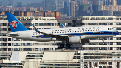 A picture of B301A - Airbus A320271N - China Southern Airlines - © SZ4509