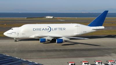 A picture of N718BA - Boeing 7474H6(LCF) Dreamlifter - Boeing - © TATSU