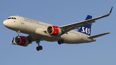 A picture of SEROC - Airbus A320251N - SAS - © Rafael Zisser