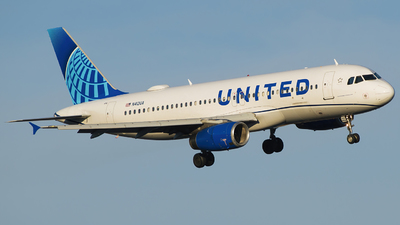 A picture of N412UA - Airbus A320232 - United Airlines - © Gautham Kurup