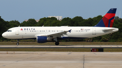 A picture of N363NW - Airbus A320212 - Delta Air Lines - © James Bruno