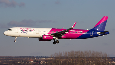 HA-LXG - Airbus A321-231 - Wizz Air