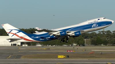G-CLBA - Boeing 747-428F(SCD) - CargoLogicAir