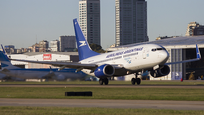 A picture of LVCAP - Boeing 73776N - Aerolineas Argentinas - © Gabriel