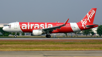 A picture of HSBBM - Airbus A320216 - AirAsia - © PROMPONG  J.