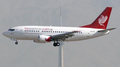EP-FSK - Boeing 737-53C - Sepehran Airlines