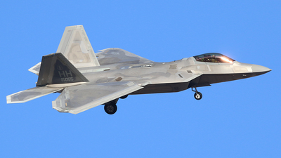 03-4055 - Lockheed Martin F-22A Raptor - United States - US Air Force (USAF)