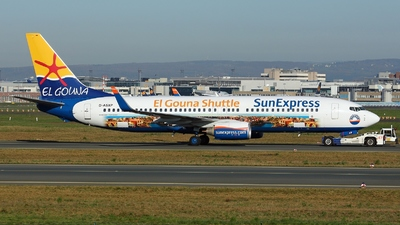 D-ASXP - Boeing 737-8HX - SunExpress Germany