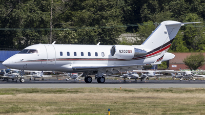 N202QS - Bombardier CL-600-2B16 Challenger 650 - NetJets Aviation
