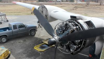 N3054V - Douglas C-54D Skymaster - Alaska Air Fuel