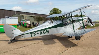 ZK-AGM - De Havilland DH-83 Fox Moth - Private