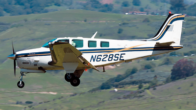 N628SE - Beechcraft B36TC Bonanza - Private