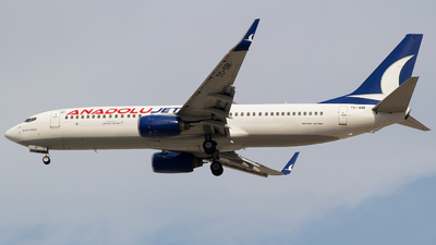 TC-SBI - Boeing 737-8AS - AnadoluJet