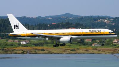 G-MOND - Boeing 757-2T7 - Monarch Airlines