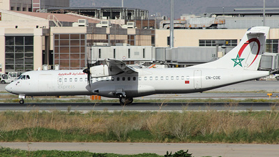 CN-COE - ATR 72-212A(600) - Royal Air Maroc Express