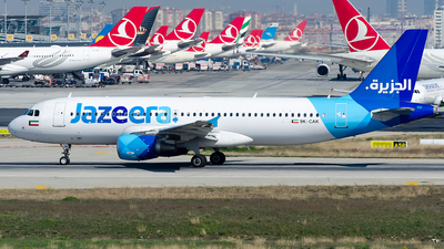 9K-CAK - Airbus A320-214 - Jazeera Airways