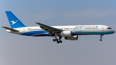 A picture of B2868 - Boeing 75725C - Xiamen Air - © Aaron_ZSAM