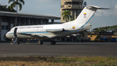 FAC0002 - Fokker F28-1000 Fellowship - Colombia - Air Force