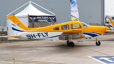 9H-FLY - Piper PA-28-161 Warrior II - Sky People Aviation Training