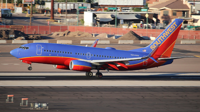A picture of N254WN - Boeing 7377H4 - Southwest Airlines - © XueQing