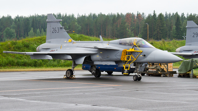 39263 - Saab JAS-39C Gripen - Sweden - Air Force