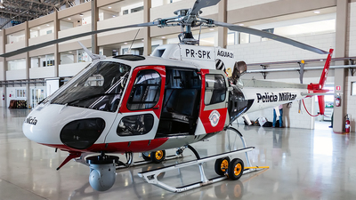 PR-SPK - Helibrás AS-350B2 Esquilo - Brazil - Military Police of São Paulo State