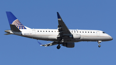 A picture of N82333 - Embraer E175LR - United Airlines - © DJ Reed - OPShots Photo Team