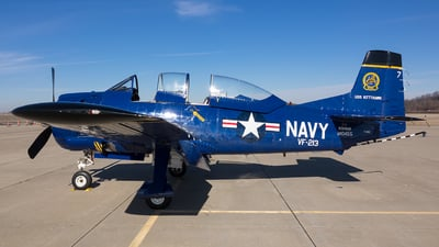 N328AK - North American T-28C Trojan - Private