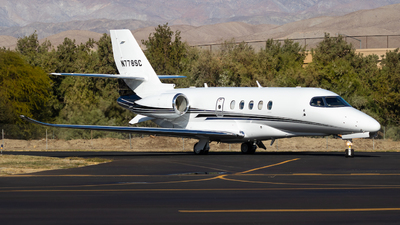 A picture of N778SC - Cessna 680A Citation Latitude - [680A0029] - © Sean Asay