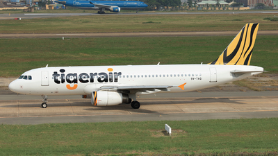 9V-TAQ - Airbus A320-232 - Tigerair
