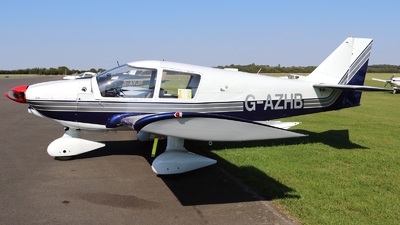 G-AZHB - Robin HR100/200B Royale - Private