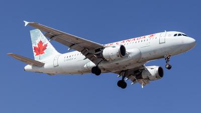 A picture of CGAQX - Airbus A319114 - Air Canada - © Santiago_MN