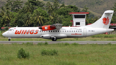 PK-WHJ - ATR 72-212A(600) - Wings Air