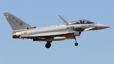 C.16-55 - Eurofighter Typhoon EF2000 - Spain - Air Force