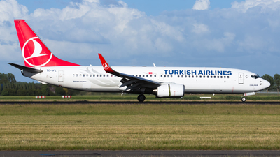A picture of TCJFL - Boeing 7378F2 - Turkish Airlines - © Kris Van Craenenbroeck