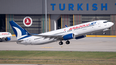 A picture of TCSBR - Boeing 73786N - Turkish Airlines - © Turkay Oksuz