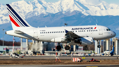A picture of FGUGG - Airbus A318111 - Air France - © Lorenzo Varin - AirTeamImages
