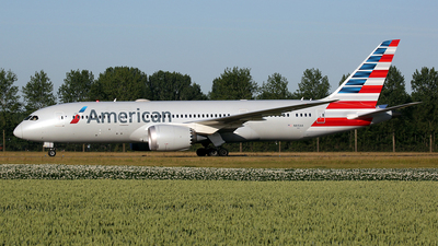 A picture of N815AA - Boeing 7878 Dreamliner - American Airlines - © wim callaert