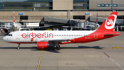 HB-IOP - Airbus A320-214 - Air Berlin (Belair Airlines)