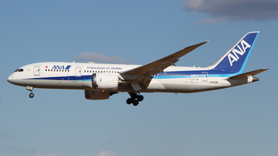A picture of JA829A - Boeing 7878 Dreamliner - All Nippon Airways - © Daichi O.