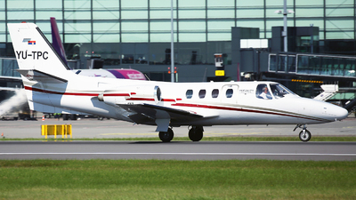 YU-TPC - Cessna 500 Citation - Private
