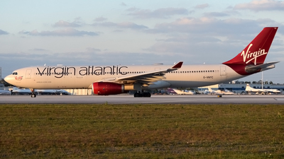 G-VNYC - Airbus A330-343 - Virgin Atlantic Airways