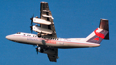 G-BOAX - De Havilland Canada DHC-7-110 Dash 7 - London City Airways