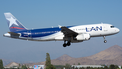 CC-COL - Airbus A320-233 - LAN Airlines