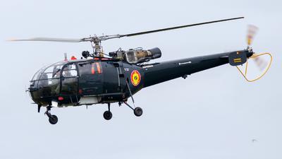 M-2 - Aérospatiale SA 316B Alouette III - Belgium - Navy