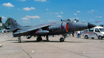 XZ455 - Hawker Siddeley Sea Harrier F/A.2 - United Kingdom - Royal Navy