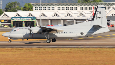 713 - Fokker 50MPA Enforcer Mk.2 - Singapore - Air Force