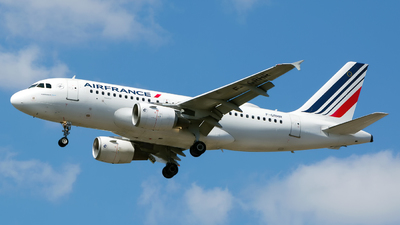 A picture of FGRHR - Airbus A319111 - Air France - © Chris Pitchacaren