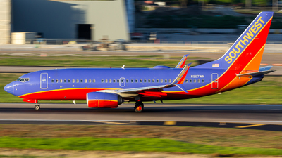 N967WN - Boeing 737-7H4 - Southwest Airlines